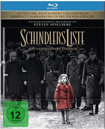 Schindlers Liste (1993) (25th Anniversary Edition, Digibook, Restaurierte Fassung, 2 Blu-rays)