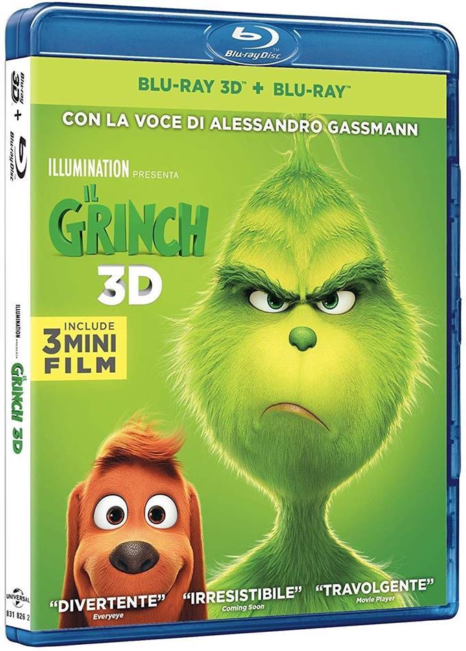 Il Grinch (2018) (Blu-ray 3D + Blu-ray)
