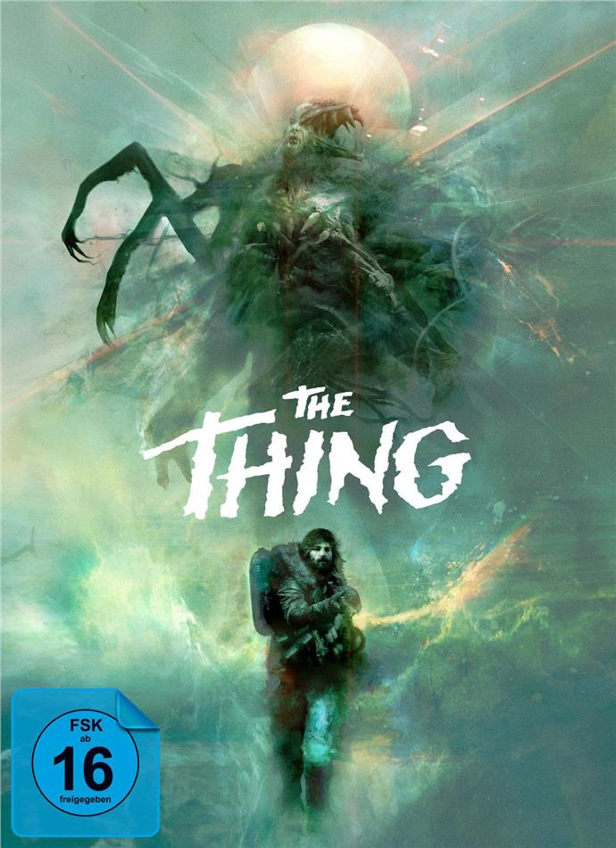The Thing (1982) / The Thing (2011) (Deluxe Edition, Limited Edition, Uncut, 3 Blu-rays + CD)