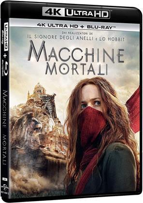 Macchine mortali (2018) (4K Ultra HD + Blu-ray)