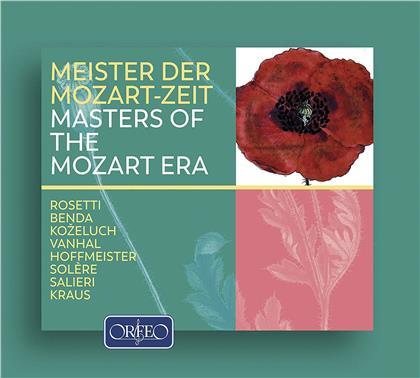 Francesco Antonio Rosetti (1750-1792), Frantisek Benda (1709-1786), Leopold Anton Kozeluch (1747-1818), Johann Baptist Vanhal (1739-1813), Franz Anton Hoffmeister (1754-1812), … - Masters Of The Mozart Era