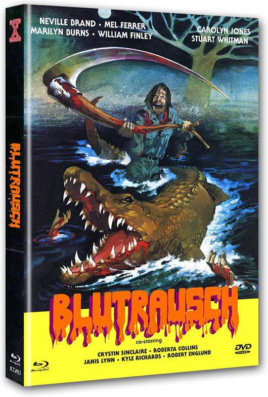 Blutrausch (1976) (Cover B, Limited Edition, Mediabook, Uncut, Blu-ray + DVD)