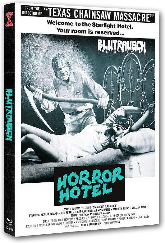 Blutrausch - Horror Hotel (1976) (Cover C, Limited Edition, Mediabook, Uncut, Blu-ray + DVD)
