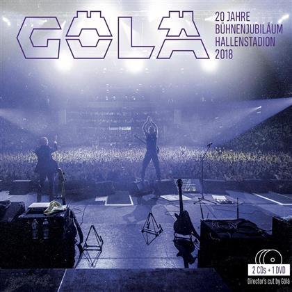 Gölä - 20 Jahre Bühnenjubiläum - Hallenstadion 2018 (2 CDs + DVD)