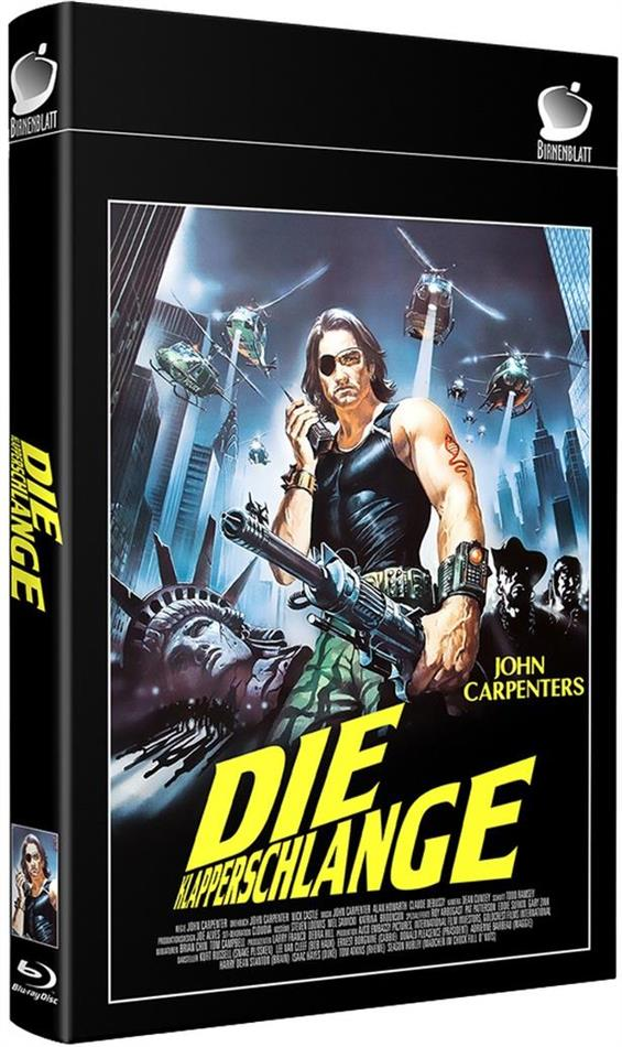 Die Klapperschlange (1981) (Grosse Hartbox, Cover C, Limited Edition, 2 Blu-rays + Hörbuch)
