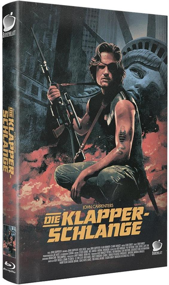 Die Klapperschlange (1981) (Grosse Hartbox, Cover A, Limited Edition, 2 Blu-rays + Hörbuch)