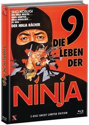 Die 9 Leben der Ninja (1985) (Cover A, Limited Edition, Mediabook, Uncut, Blu-ray + DVD)