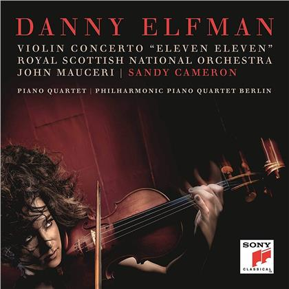 Danny Elfman, Sandy Cameron & The Royal Scottish National Orchestra - Violin Concerto 'Eleven Eleven'