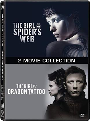 Millennium - 2 Movie Collection - The Girl in the Spider's Web / The Girl with the Dragon Tattoo (2 DVD)