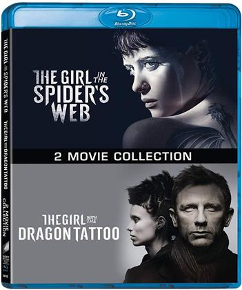 Millennium - 2 Movie Collection - The Girl in the Spider's Web / The Girl with the Dragon Tattoo (2 Blu-ray)
