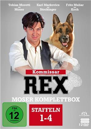 Kommissar Rex - Moser Komplettbox (Fernsehjuwelen, 4 DVDs)
