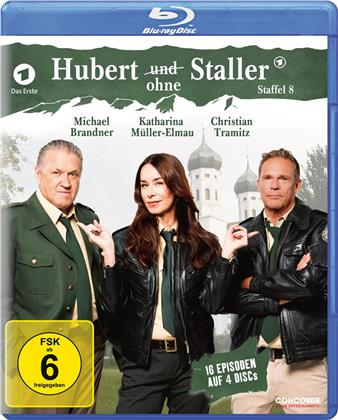 Hubert ohne Staller - Staffel 8 (4 Blu-rays)