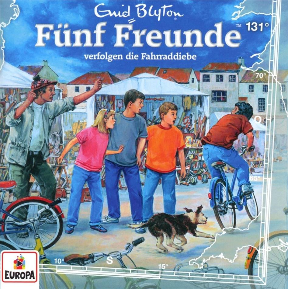 Fünf Freunde - 131/verfolgen die Fahrraddiebe