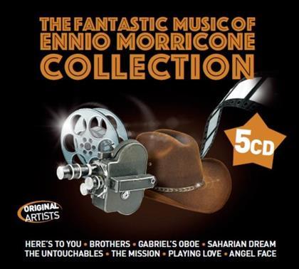 Ennio Morricone (*1928) - The Fantastic Music Of Ennio Morricone - OST (5 CDs)