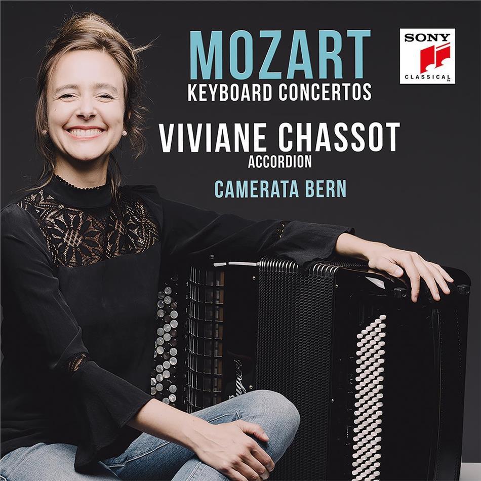 Wolfgang Amadeus Mozart (1756-1791), Viviane Chassot & Camerata Bern - Piano Concertos - Klavierkonzerte Nr. 11, 15 & 27 (bearb. Für Akkordeon)