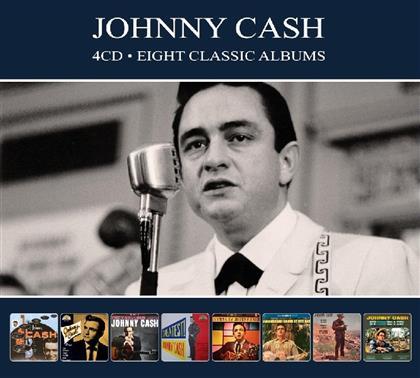 Johnny Cash - 8 Classic Albums (Digipack, 4 CDs)