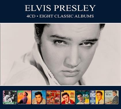Elvis Presley - 8 Classic Albums (Digipack, 4 CDs)