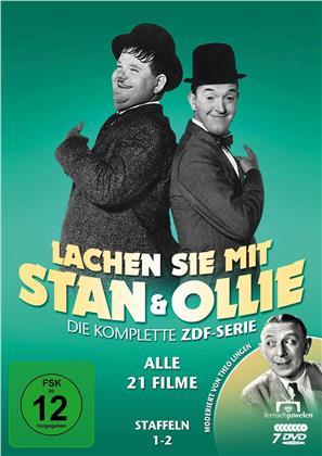 Lachen Sie mit Stan & Ollie (7 DVDs)