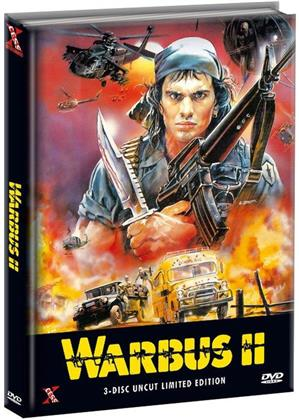 Warbus 2 (1989) (Triple War Pack, Limited Edition, Mediabook, Uncut, 3 DVDs)
