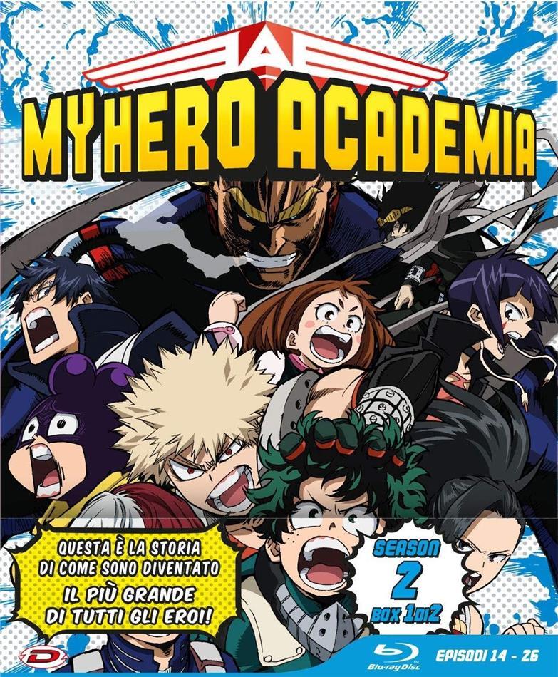 My Hero Academia - Stagione 2 - Box 1 (Edizione Limitata, 3 Blu-ray)