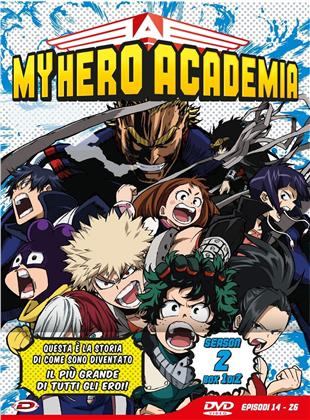 My Hero Academia - Stagione 2 - Box 1 (Limited Edition, 3 DVDs)