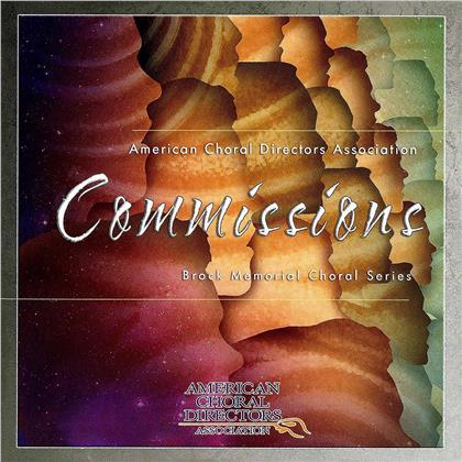 American Choral Directors Association, Adler, Brunner, Walker & Salamunovich - Commissions