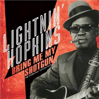 Lightnin' Hopkins - Bring Me My Shotgun - The Essential Collection (2019 Reissue, Limited, Remastered, Red Vinyl, LP)