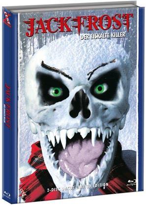 Jack Frost - Der eiskalte Killer (1997) (Cover A, Limited Edition, Mediabook, Uncut, Blu-ray + DVD)