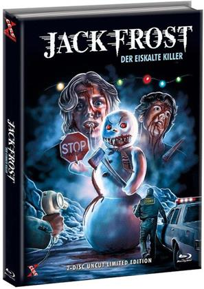 Jack Frost - Der eiskalte Killer (1997) (Cover C, Limited Edition, Mediabook, Uncut, Blu-ray + DVD)