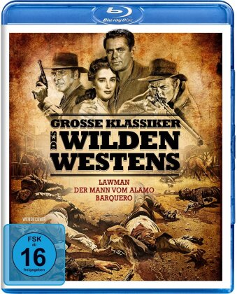 Grosse Klassiker des Wilden Westens (3 Blu-rays)