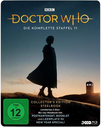 Doctor Who - Staffel 11 (BBC, Collector's Edition, Limited Edition, Steelbook, 3 Blu-rays)