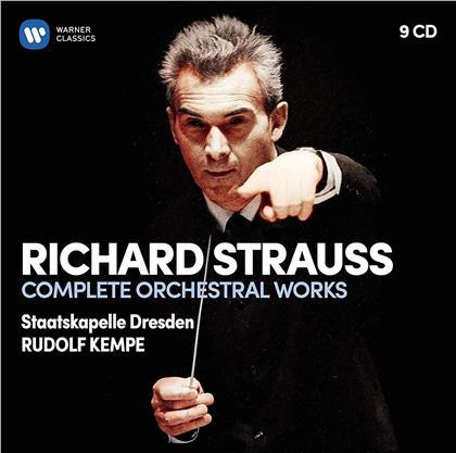 Richard Strauss (1864-1949) & Rudolf Kempe - Complete Orchestral Works (9 CDs)