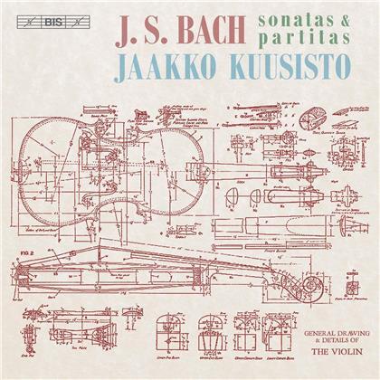 Jaako Kuusisto - Sonatas & Partitas (Hybrid SACD + SACD)