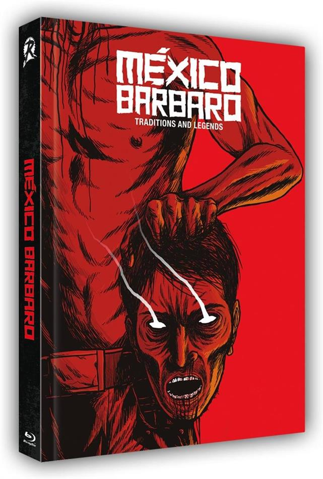 Mexico Barbaro (2014) (Cover D, Limited Edition, Mediabook, Uncut, Blu-ray + DVD)