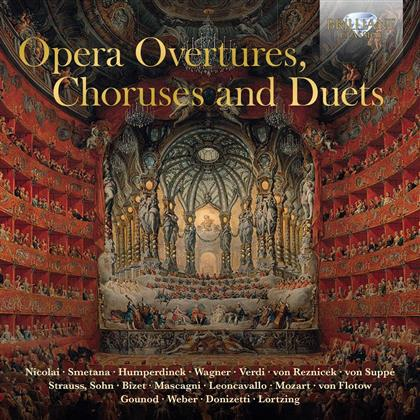 Opera Overtures, Choruses & Duets (3 CDs)