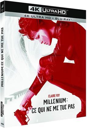 Millénium: Ce qui ne me tue pas (2018) (4K Ultra HD + Blu-ray)