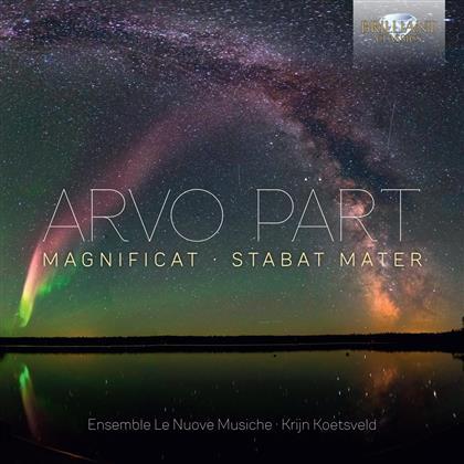 Arvo Pärt (*1935), Krijn Koetsveld & Le Nuove Musiche - Magnificat / Stabat Mater
