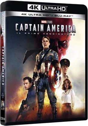 Captain America - Il primo vendicatore (2011) (4K Ultra HD + Blu-ray)