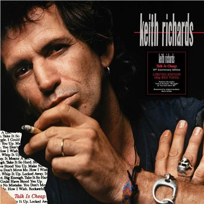 Keith Richards - Talk Is Cheap (Limited, Red Vinyl, LP)
