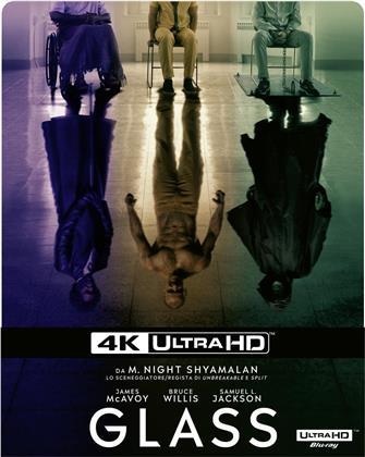 Glass (2019) (Limited Edition, Steelbook, 4K Ultra HD + Blu-ray)