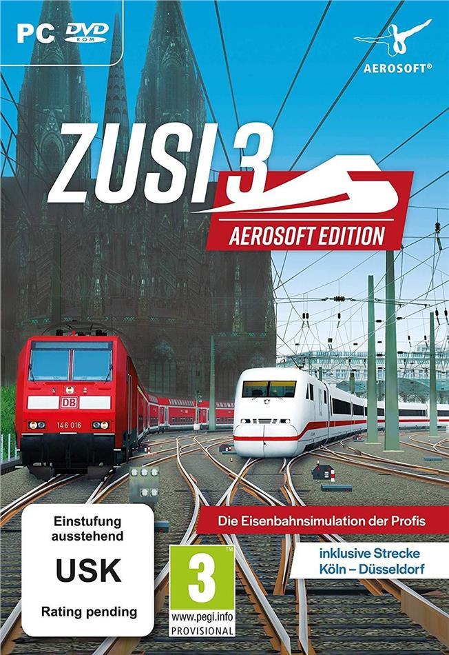 ZUSI 3 Aerosoft Edition inkl. Strecke Köln-Düsseldorf