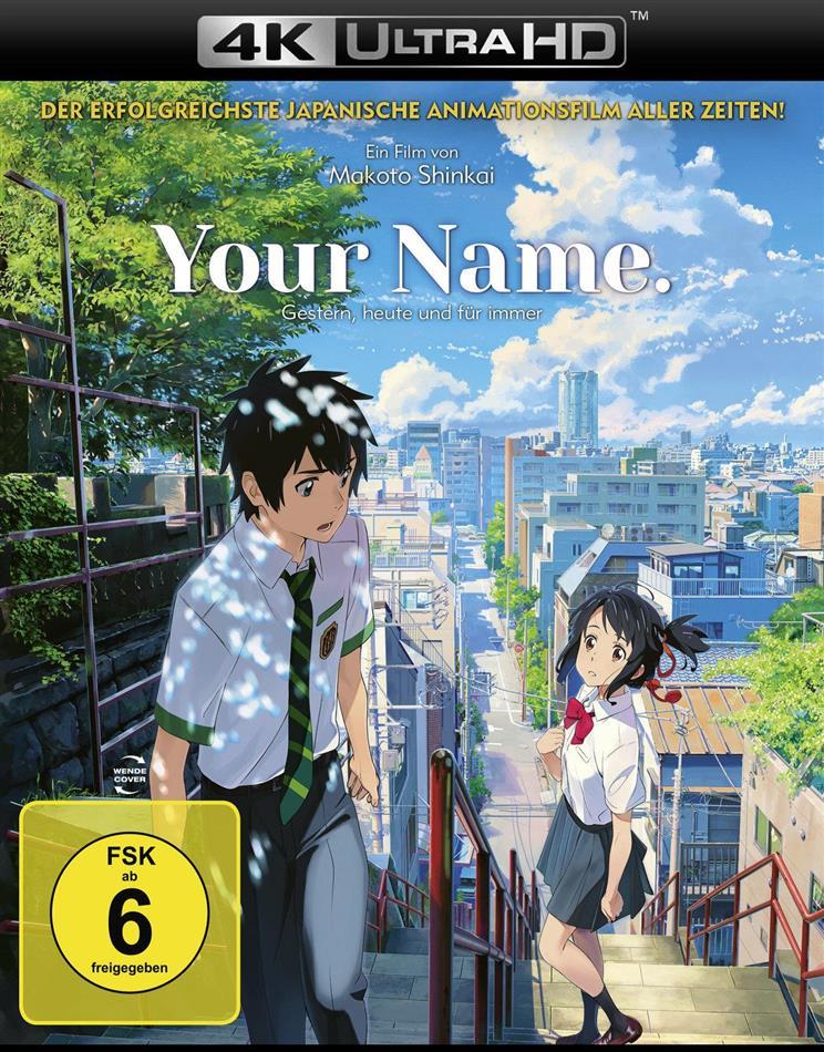 Your Name. - Gestern, heute und für immer (2016) (4K Ultra HD + Blu-ray)