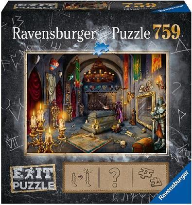 Exit Puzzle: Im Vampirschloss - 759 Teile Puzzle