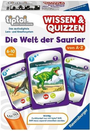 tiptoi Wissen & Quizzen - Die Welt der Saurier
