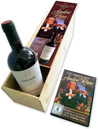 André Rieu - Ein genussvoller Abend mit André Rieu - Weinbox (2 DVDs)