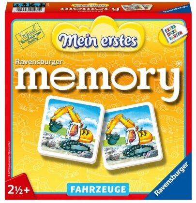 Mein erstes Memory - Fahrzeuge (Kinderspiel)