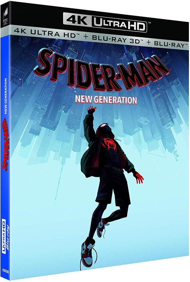 Spider-Man - New Generation (2018) (4K Ultra HD + Blu-ray 3D + Blu-ray)
