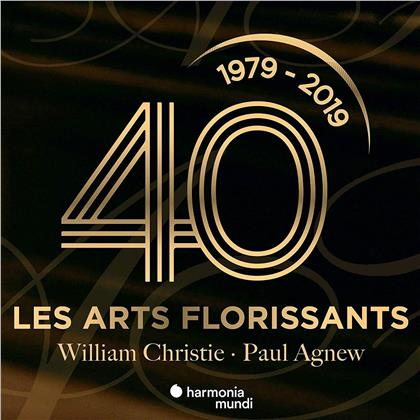 William Christie, Paul Agnew & Les Arts Florissants - Les Arts Florissants : 40 Ans (3 CDs)