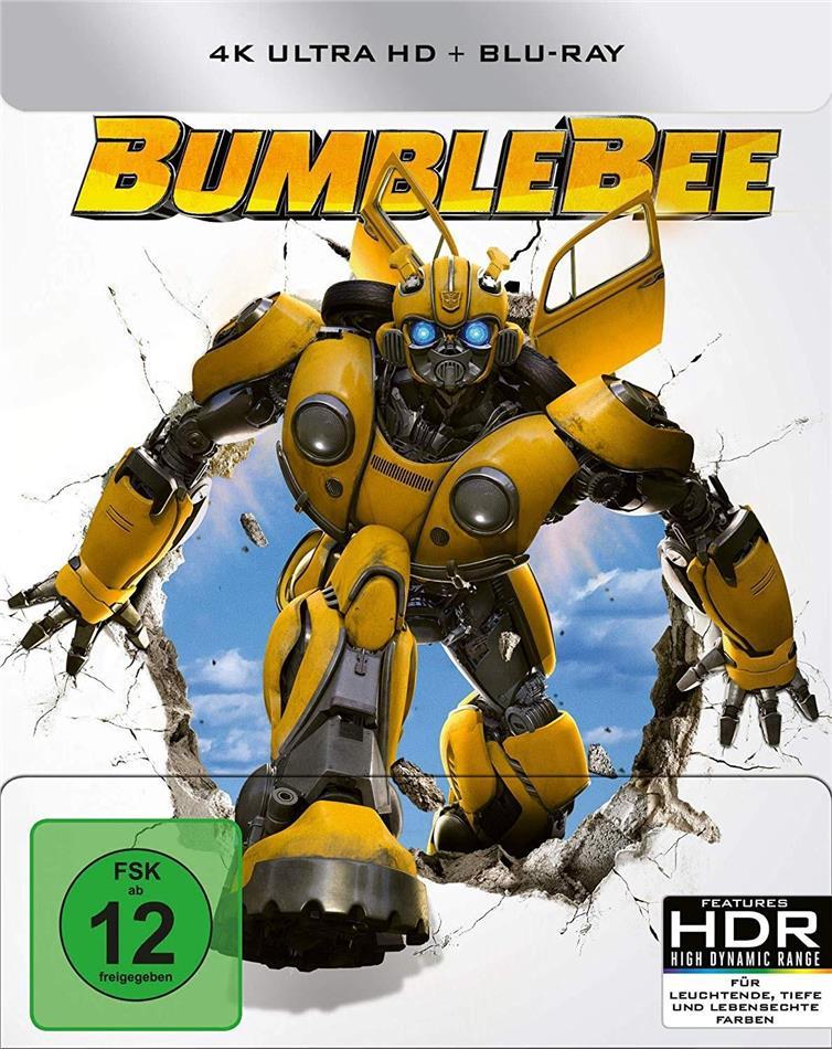 Bumblebee (2018) (Limited Edition, Steelbook, 4K Ultra HD + Blu-ray)