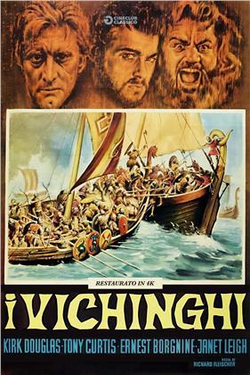 I vichinghi (1958) (Cineclub Classico, Restaurato in 4K)